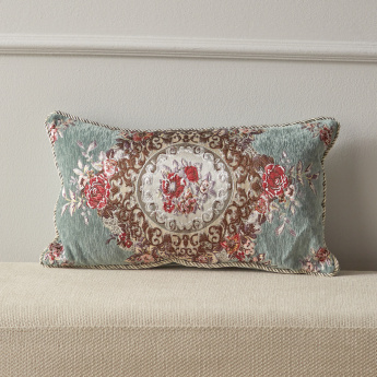Majolika Filled Cushion - 30x50 cms