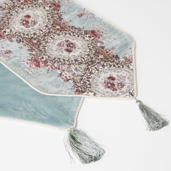 Majolika Embroidered Table Runner - 30x120 cms