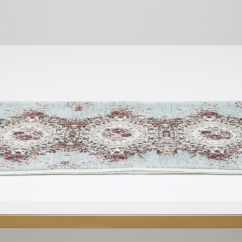 Majolika Embroidered Table Runner - 30x400 cms