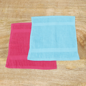 Sierra 5-Piece Face Towel Set - 30x30 cms