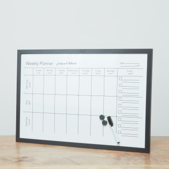 Aitken's Memo Board with Weekly Planner