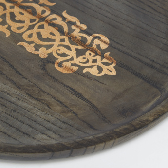 Keokuk Chinese Ash Wooden Serving Tray