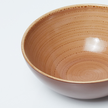 Twirl Shell Printed Serving Bowl - 20 cms
