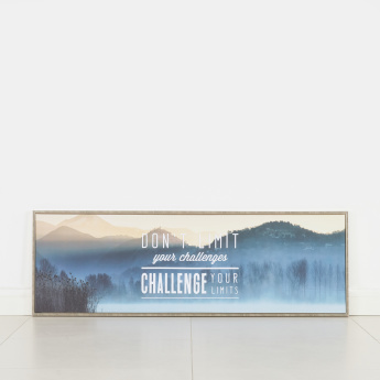 Perspective Change Printed Canvas Frame