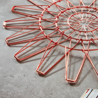 Braintree Polyplast Copper Finished Trivet
