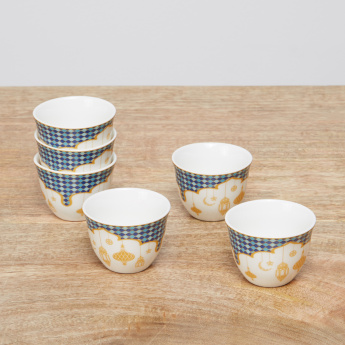 Celestial Qahwa Printed Cups – Set of 12