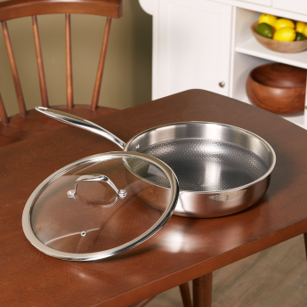 Master Pro Saute Pan with Lid – 28x7 cms