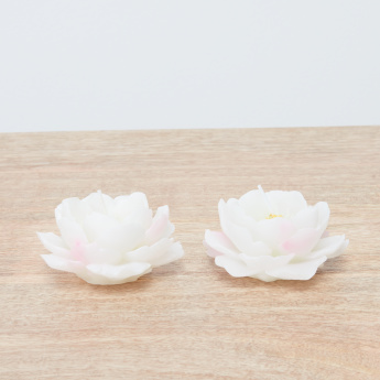 Plum Bloom Candle - Set of 2