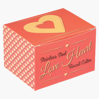 Love Heart-Shaped Biscuit Cutter