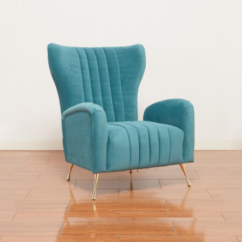 Vegas Channel Tufted Accent Chair