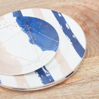 Cosmic Skies Print 20-Piece Dinner Set