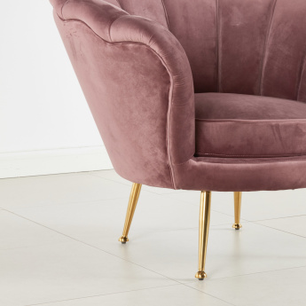 Ripple Channel Tufted Arm Chair