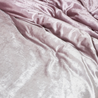 Shimmer 3-Piece Velvet King Duvet Cover Set - 230x220 cms