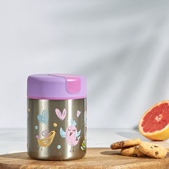Zola Printed Stainless Steel Bottle - 300 ml
