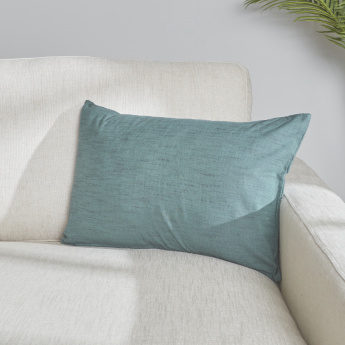 Organic Liny Rectangular Cushion Cover - 40x65 cms