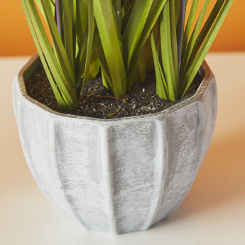 Artificial Lavender Plant in Pot - 43.2 cms