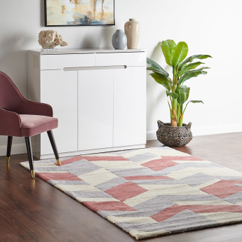 Cario Textured Rectangular Rug - 160x230 cms