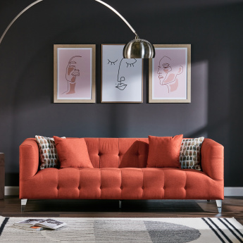Morgan 3-Seater Sofa with Scatter Cushions
