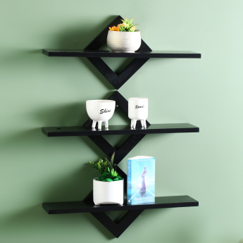 Karen Wooden Wall Shelf
