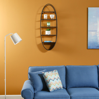 Lynn Oval Wall Shelf