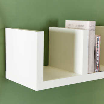 Sion 3-Section Shelf - 90 cms